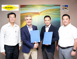 Loxley Sign MOU with Colas Rail